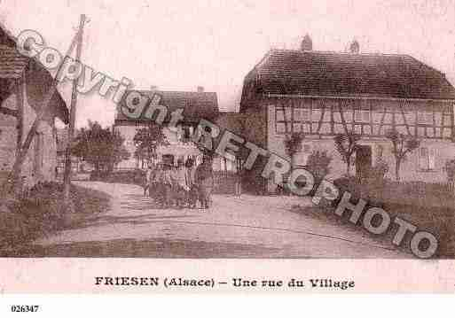 Ville de FRIESEN, carte postale ancienne