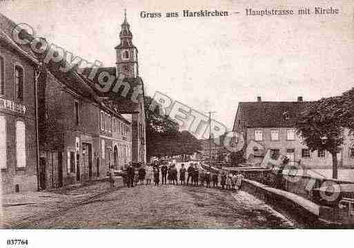 Ville de HARSKIRCHEN, carte postale ancienne