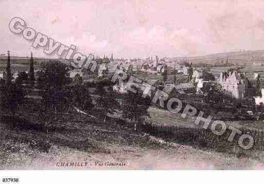 Ville de CHAMILLY, carte postale ancienne