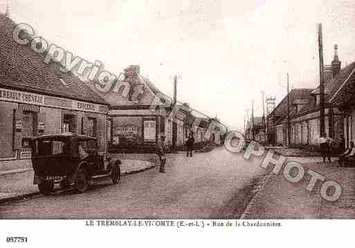 Ville de TREMBLAYLESVILLAGES, carte postale ancienne