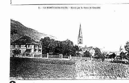 Ville de MONETIERLESBAINS(LE), carte postale ancienne