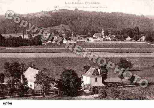 Ville de GOES, carte postale ancienne