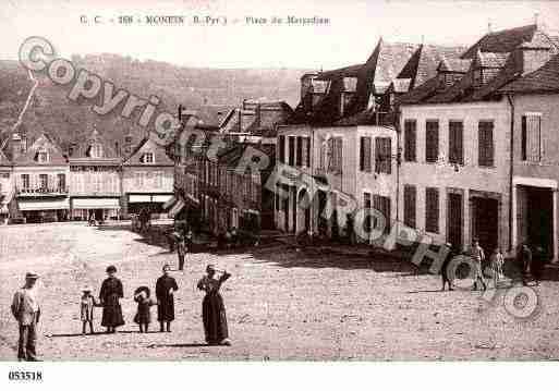 Ville de MONEIN, carte postale ancienne