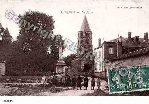 Ville de CHANES, carte postale ancienne