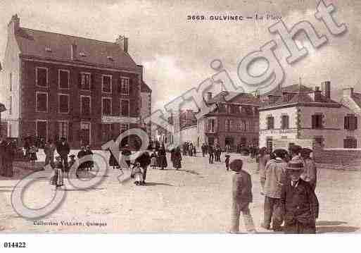 Ville de GUILVINEC, carte postale ancienne