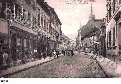 Ville de SAINTEMARIEAUXMINES, carte postale ancienne