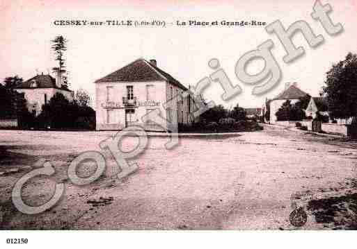 Ville de CESSEYSURTILLE, carte postale ancienne