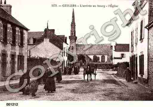 Ville de GUILERS, carte postale ancienne