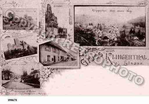 Carte Klingenthal Alsace.Klingenthal Photo Et Carte Postale