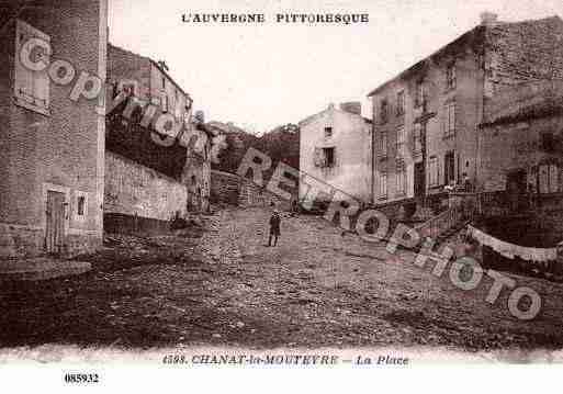 Ville de CHANATLAMOUTEYRE, carte postale ancienne