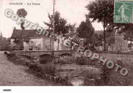 Ville de CHANGE, carte postale ancienne