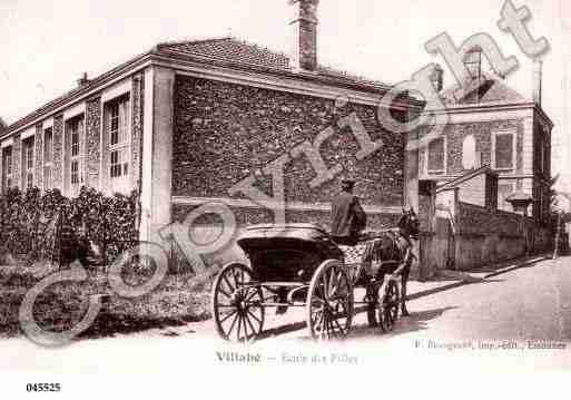Ville de VILLABE, carte postale ancienne