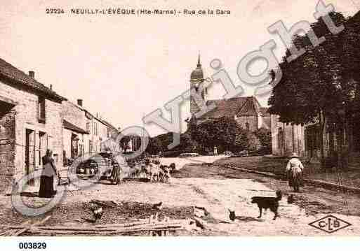 Ville de NEUILLYL'EVEQUE, carte postale ancienne