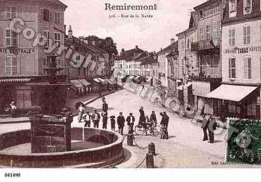 Ville de remiremont ph003910 h photos imprim es d 39 une for Piscine de remiremont