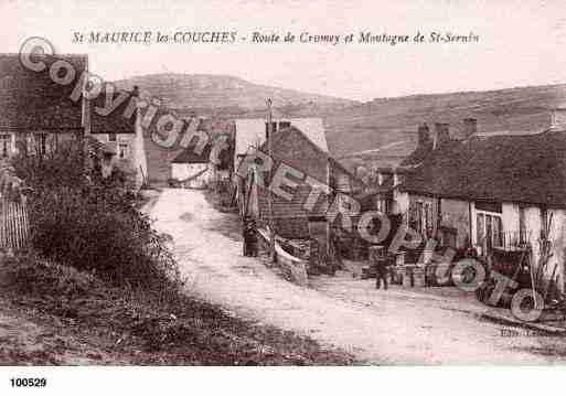 Bouzeron photo et carte postale - Saint maurice les couches ...