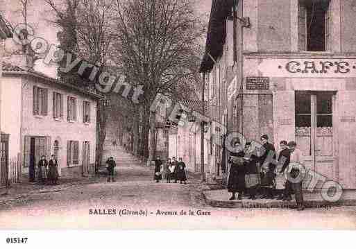 Salles, photo et carte postale