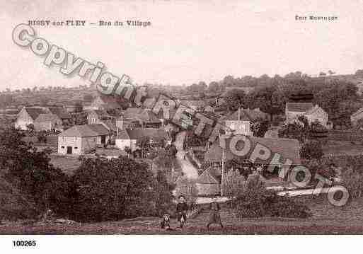 Ville de BISSYSURFLEY, carte postale ancienne