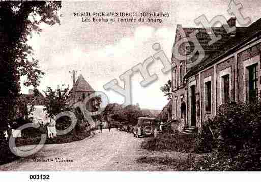 Ville de SAINTSULPICED'EXCIDEUIL, carte postale ancienne