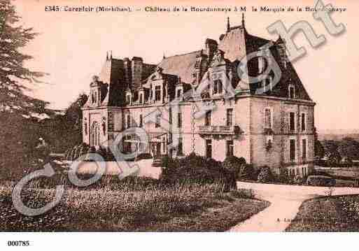 Ville de CARENTOIR, carte postale ancienne