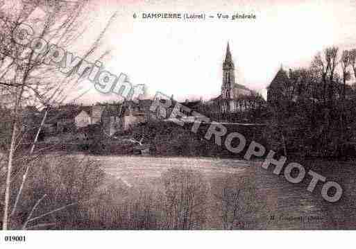 Ville de DAMPIERREENBURLY, carte postale ancienne