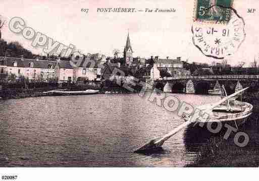 Ville de PONTHEBERT, carte postale ancienne