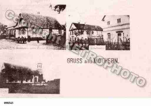Ville de MOTHERN, carte postale ancienne
