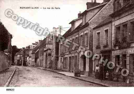 Ville de NONANTLEPIN, carte postale ancienne