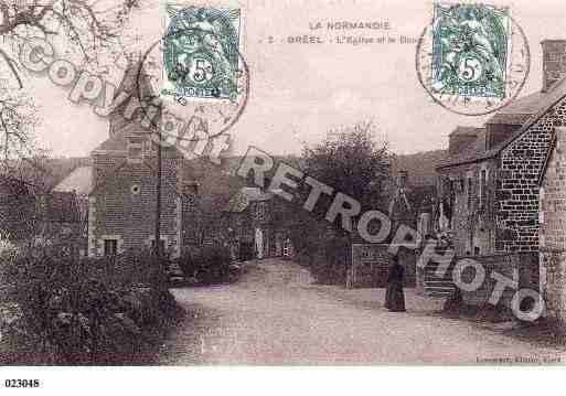 Ville de BREEL, carte postale ancienne