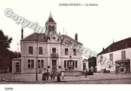 Ville de COMBLANCHIEN, carte postale ancienne