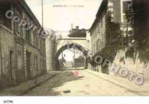 Ville de herblay ph036415 e photo r alis e partir d 39 une carte ancienne - Piscine herblay ...