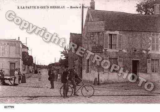 Ville de herblay ph036415 g photos inspir es d 39 une carte postale ancienne - Piscine herblay ...