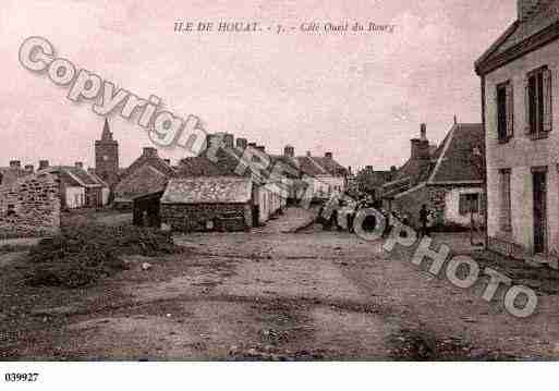Ville de ILED'HOUAT, carte postale ancienne