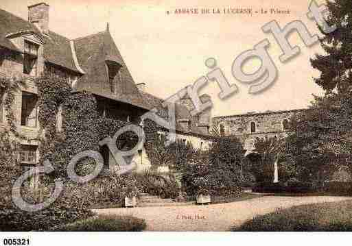Ville de LUCERNED'OUTREMER(LA), carte postale ancienne