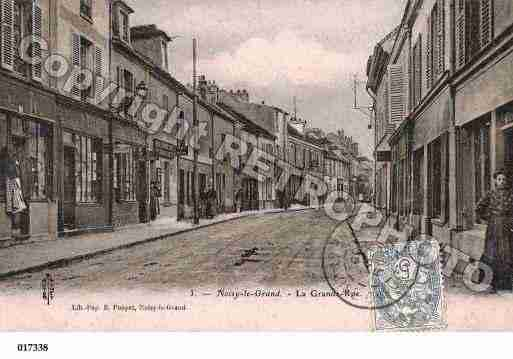 Ville de NOISYLEGRAND, carte postale ancienne