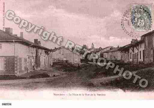 Ville de VERRIERES, carte postale ancienne
