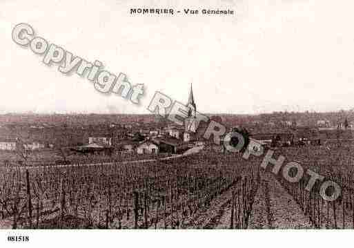 Ville de MOMBRIER, carte postale ancienne
