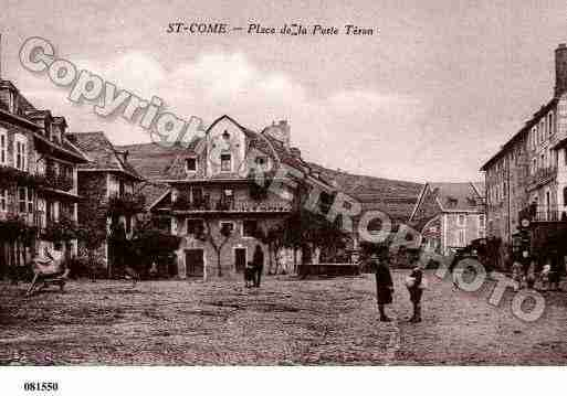 Ville de SAINTCOME, carte postale ancienne