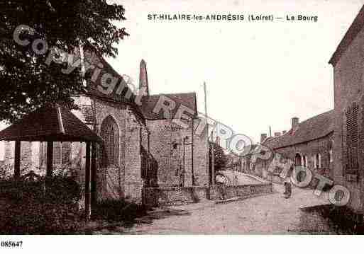 Ville de SAINTHILAIRELESANDRESIS, carte postale ancienne