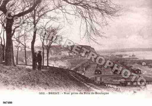 Carte postale ancienne de la ville de brest ph002715 h sur cartes et patrimoine carte postale - H et h brest ...