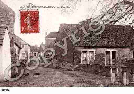 Ville de COLLONGESLESBEVY, carte postale ancienne