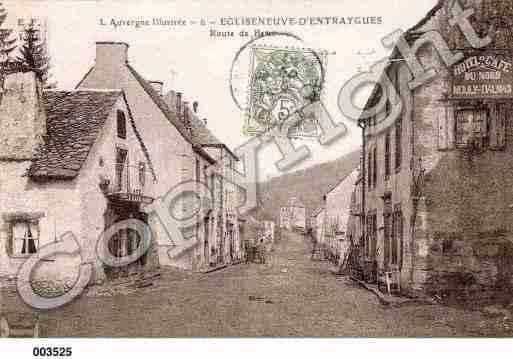 Ville de EGLISENEUVED'ENTRAIGUES, carte postale ancienne
