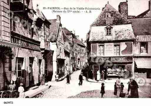 Ville de Paimpol, PH004718-F. Photographies à partir d'une carte postale