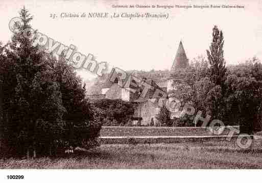 Ville de CHAPELLESOUSBRANCION, carte postale ancienne