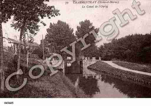 Ville de CHARMENTRAY, carte postale ancienne