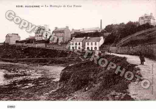 Ville de AUDIERNE Carte postale ancienne