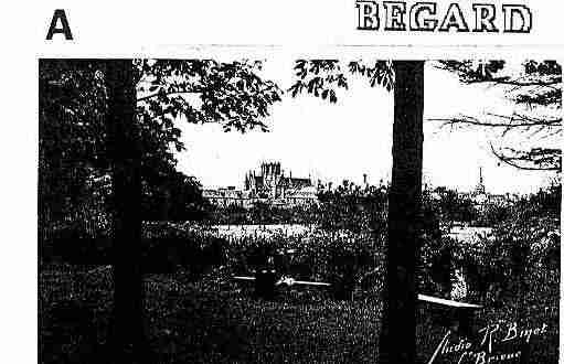 Ville de BEGARD Carte postale ancienne