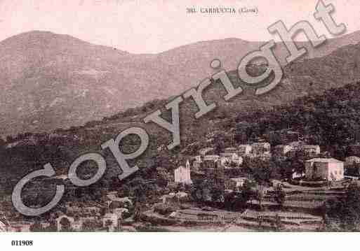 Ville de CARBUCCIA Carte postale ancienne