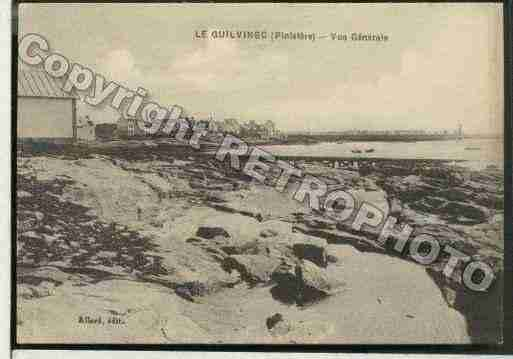Ville de GUILVINEC Carte postale ancienne