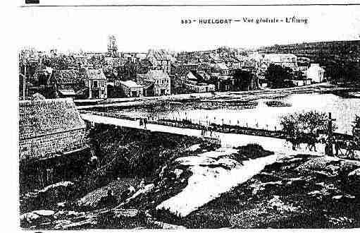 Ville de HUELGOAT Carte postale ancienne