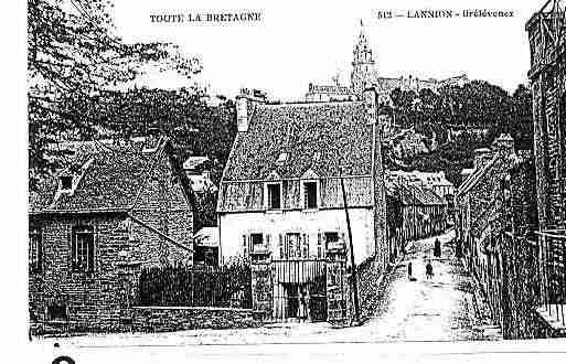 Ville de LANNION Carte postale ancienne